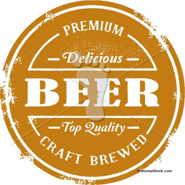 Vintage Premium Beer Vector Design