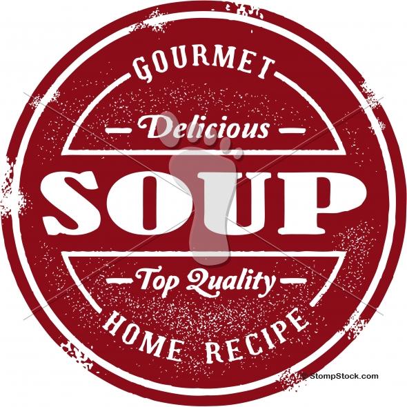 Fresh Gourmet Soup Design
