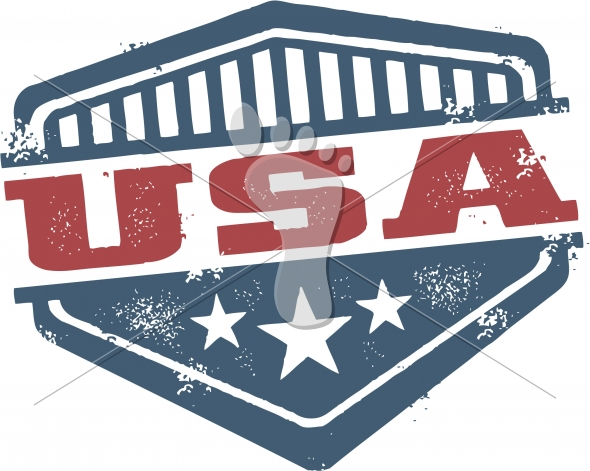 United States of America USA Crest-Shield