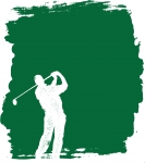 Golfing Poster Background