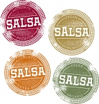 Vector Mexican Salsa Clip Art