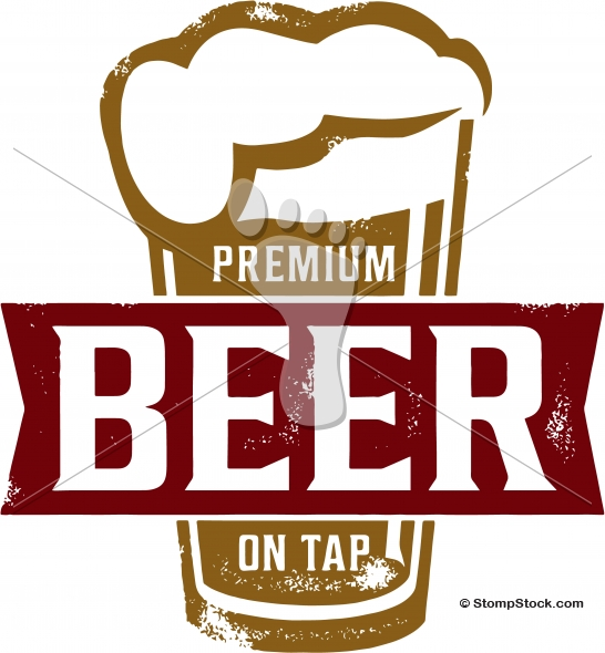 Premium Beer on Tap Bar Design