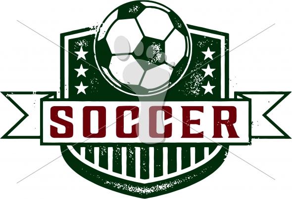 Vintage Soccer-Football Crest