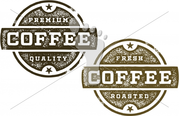 Premium Coffee Vintage Sign