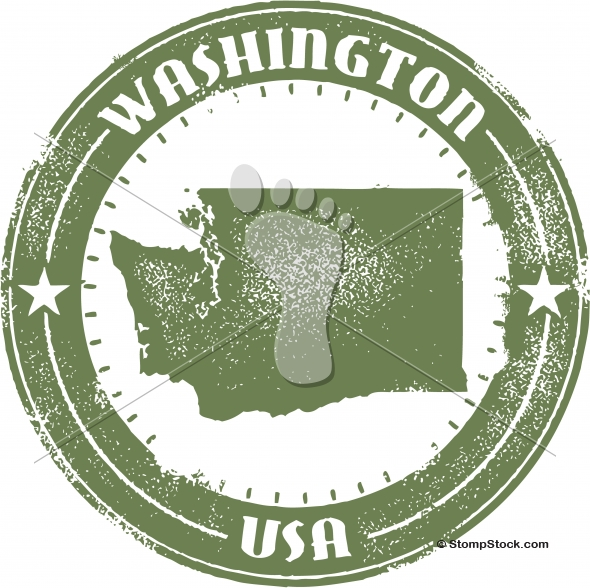 Vintage Washington USA State Stamp/Seal