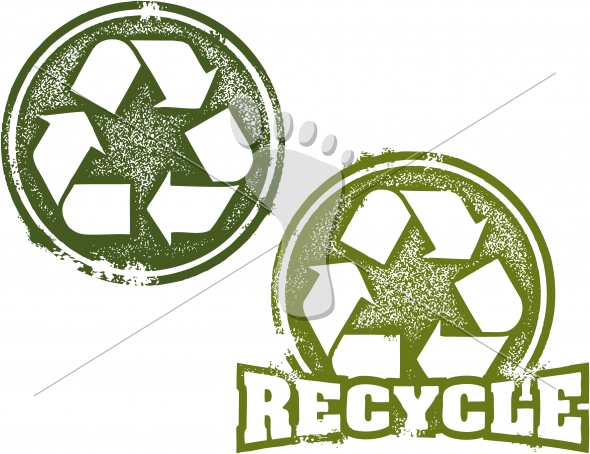Recycling Icon Stamp