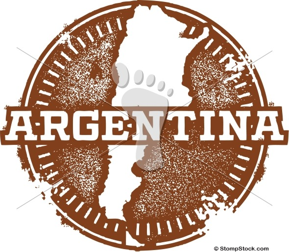 Vintage Argentina South America Stamp