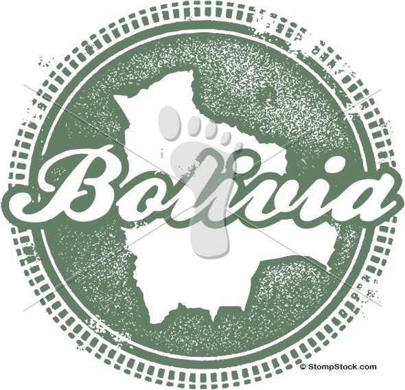 Bolivia South American Country Stamp