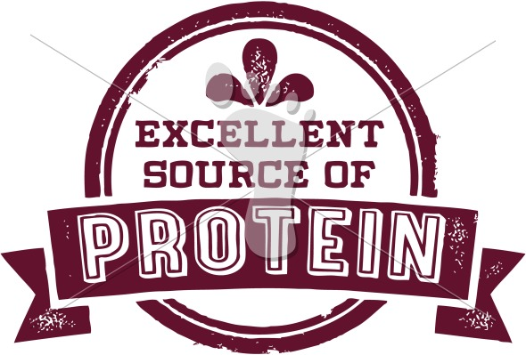 Excellent Source of Protein Nutrition Label