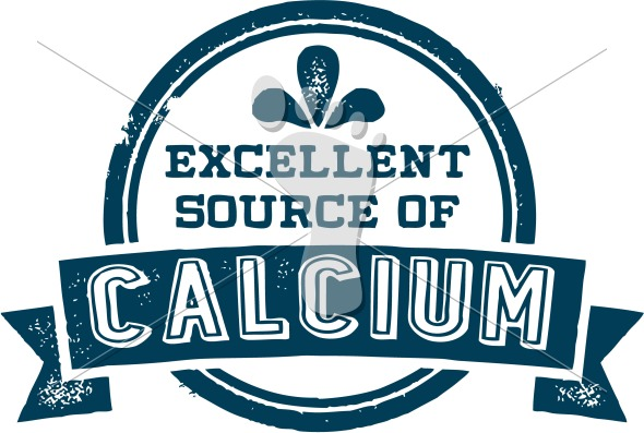 Excellent Source of Calcium Food Label