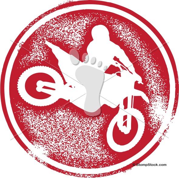 Motocross Motorcycle Clip Art