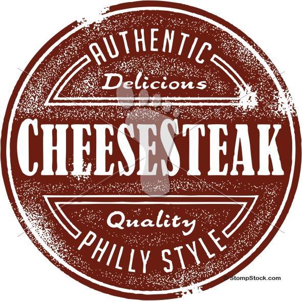 Philly Style Cheesesteak Sandwich