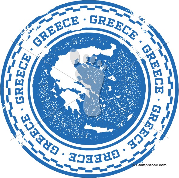 Greece European Country Stamp