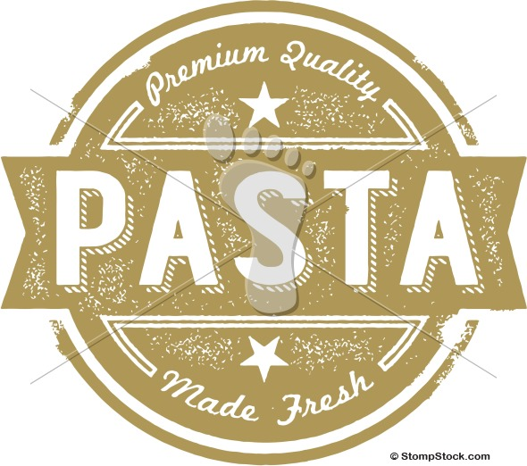 Vintage Fresh Pasta Menu Design