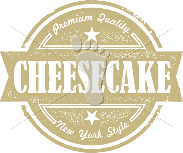 Vintage New York Cheesecake Label
