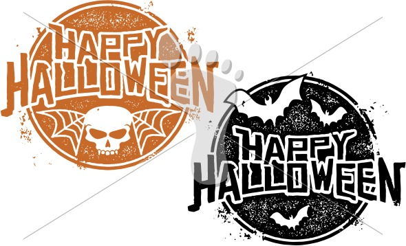 Happy Halloween Vector Clip Art