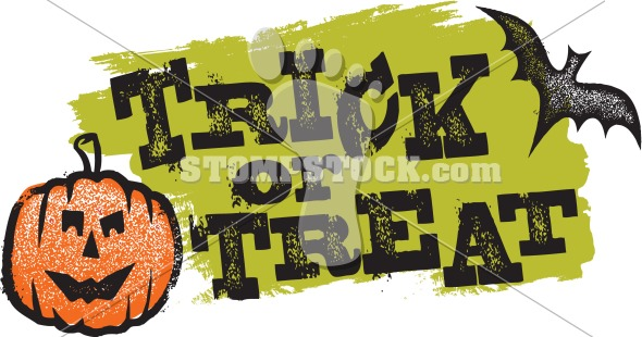 Halloween Trick or Treat Graphic
