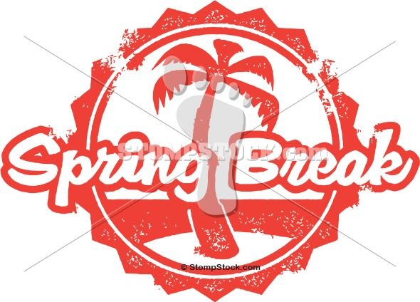 Spring Break Vector ClipArt | StompStock - Royalty Free Stock Vector ...