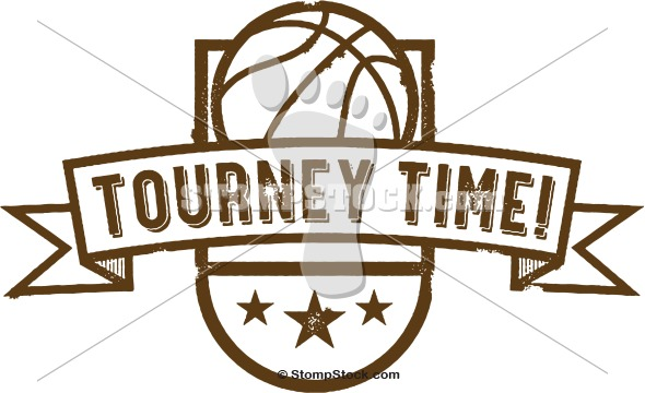 Basketball Tourney Time Clip Art