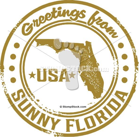 Florida Postcard Clip Art