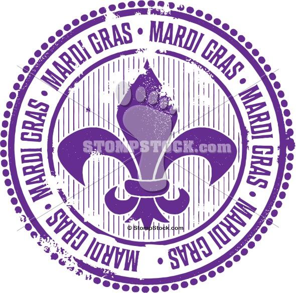 Mardi Gras Vector Clip Art