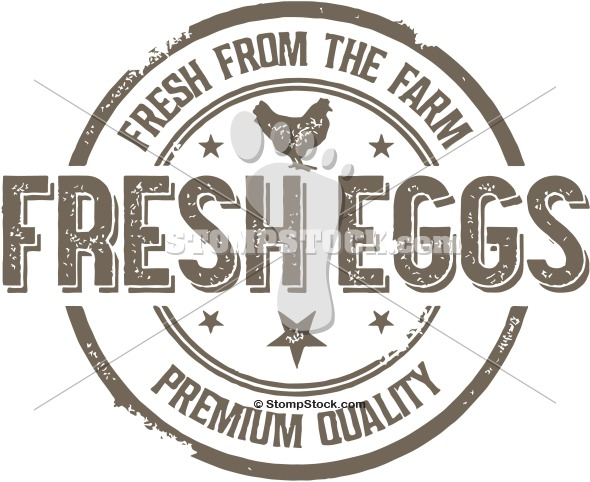 Vintage Fresh Farm Eggs Sign