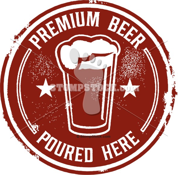 Premium Tap Beer Bar Sign