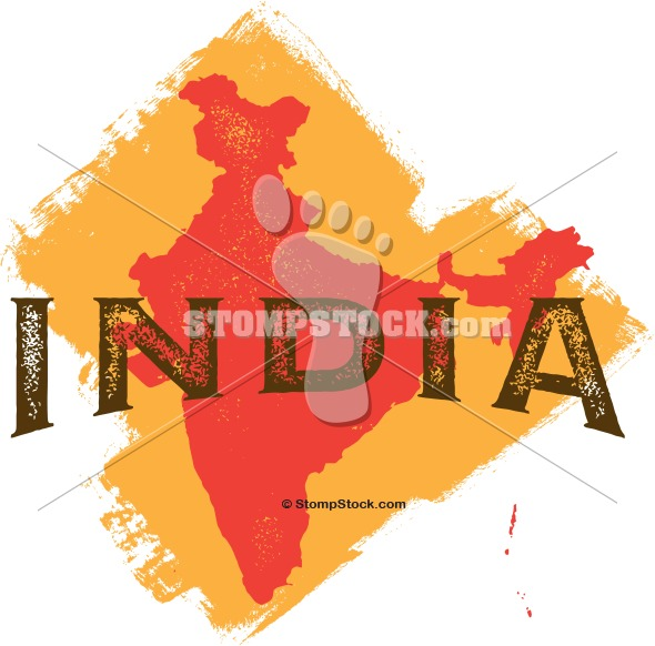 Vintage india Travel ClipArt