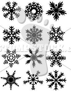 DH Snowflakes Font – Commercial License