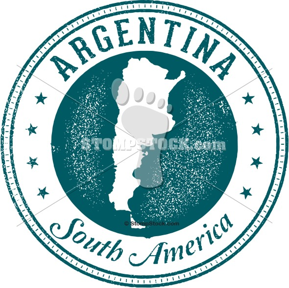 Argentina South America Stamp