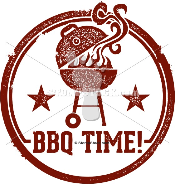 It's BBQ Time! Clipart