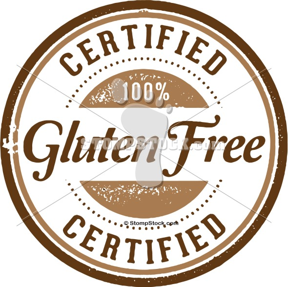 Gluten Free Product Stamp
