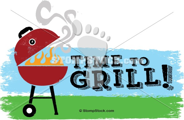 BBQ Grill Royalty Free Graphic
