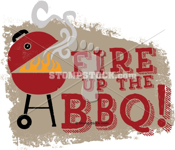 Fire up the BBQ Grill Design
