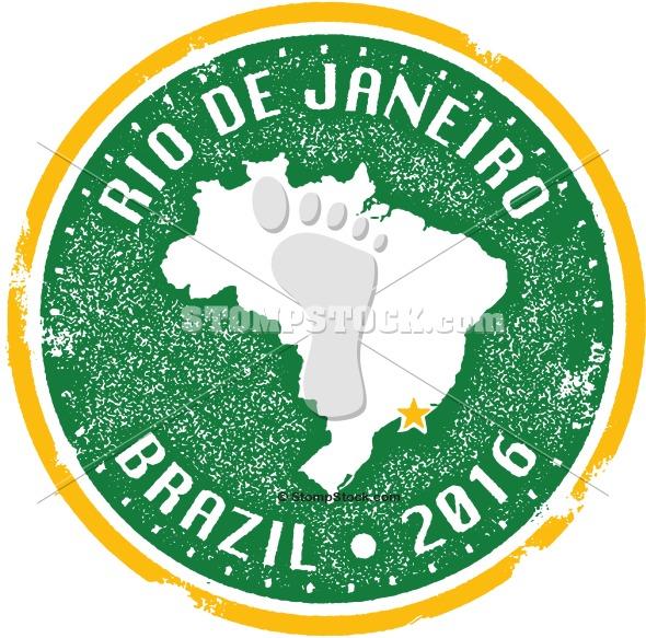 Rio de Janeiro – Brazil 2016 Travel Stamp