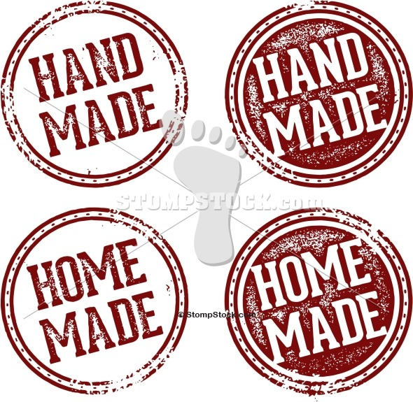 Handmade & Homemade Product Stamps