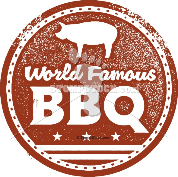 Vintage Style Barbecue BBQ Design