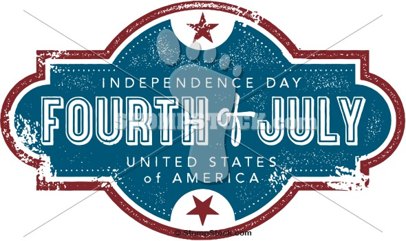 Vintage Fourth of July Graphic