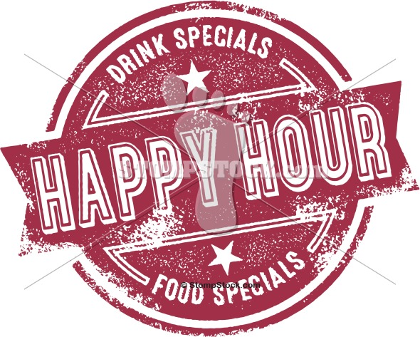 Happy Hour Bar Clip Art