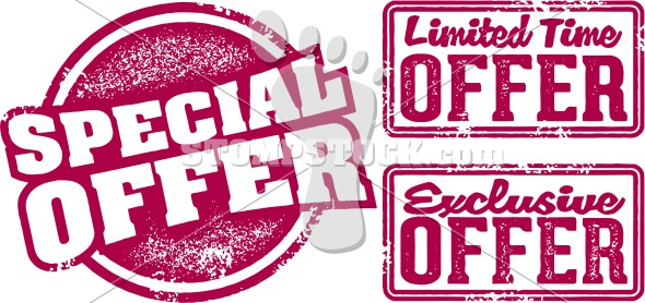 Special Limited Offer Retail Graphics