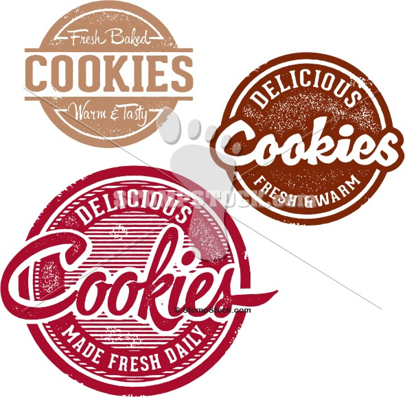 Vintage Fresh Cookies Sign Designs