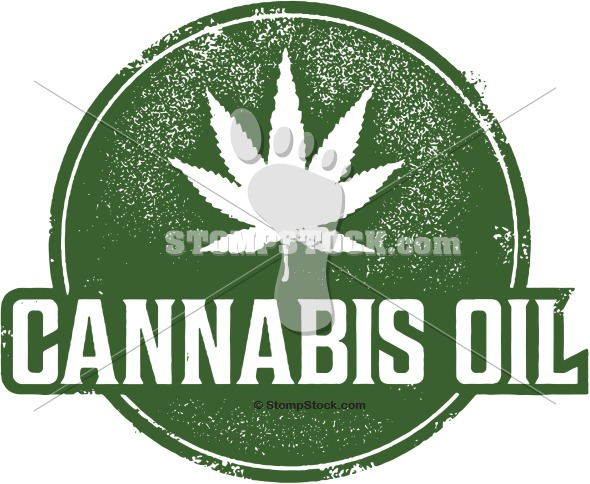 Cannabis Oil Clip Art