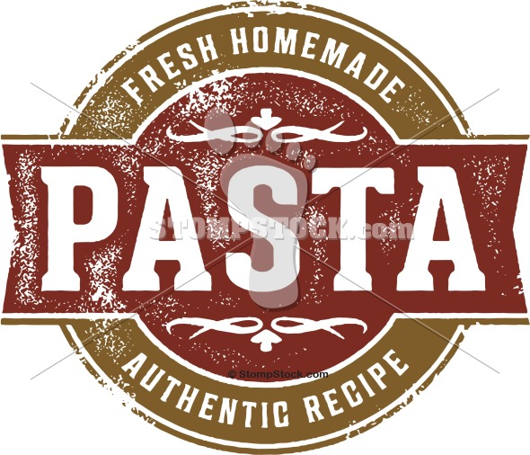 Fresh Pasta Clip Art Image