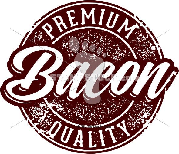 Premium Bacon Clip Art