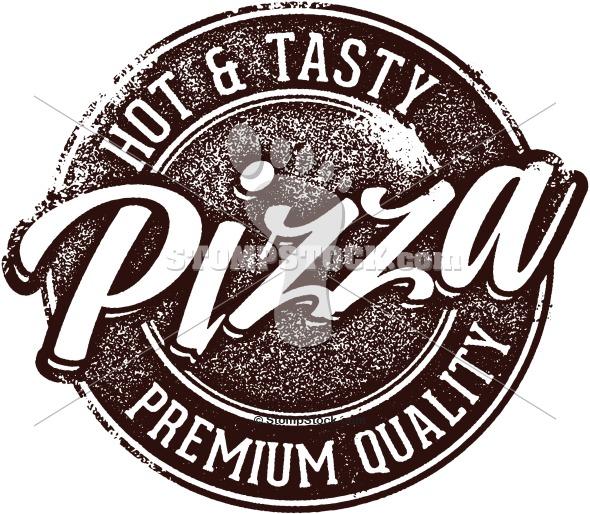 Vintage Pizza Clip Art