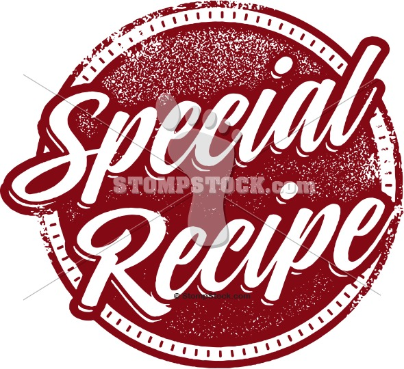 Special Recipe Menu Badge