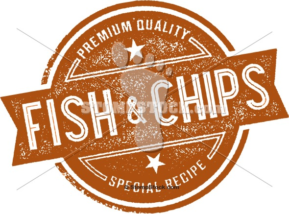 Fish And Chips Menu Design