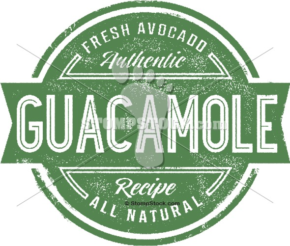 Fresh Guacamole Stock Image