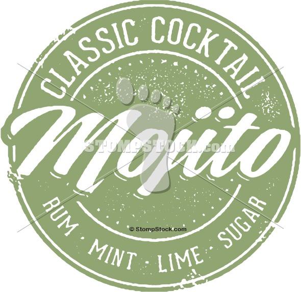 Mojito Cocktail Menu Clip-art