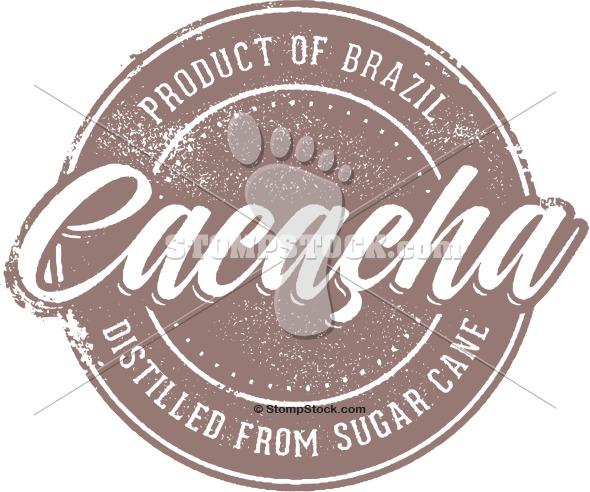Brazilian Cacacha Clip Art Stamp